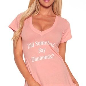 Wildfox Did somebody say diamonds 💎 Tee